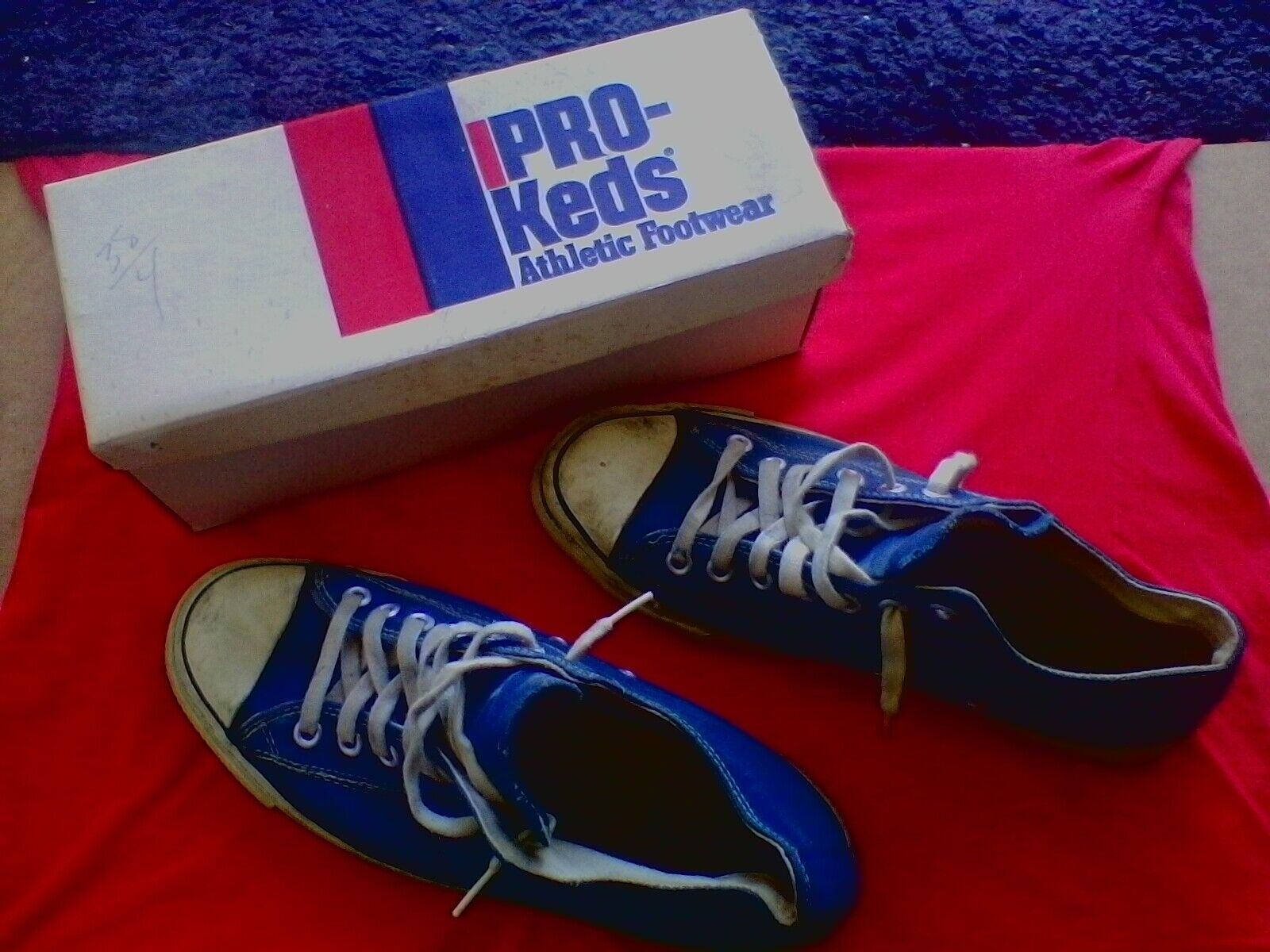 Vintage (Chuck Taylor) Converse (All Star Basketball) Sneakers (W) Pro Keds Box