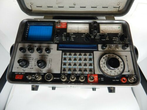IFR FMAM-1200s Communications Service Monitor / Spectrum Analyzer