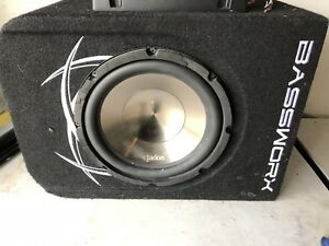 "Clarion 12"" Subwoofer w/ Kenwood 400W amp"