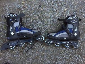 Rollerblades. Used once.  Size 10 mens.
