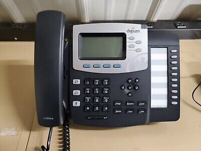 Digium D50 Phone W Stand Handset Cord And Power Adapter. Grade A