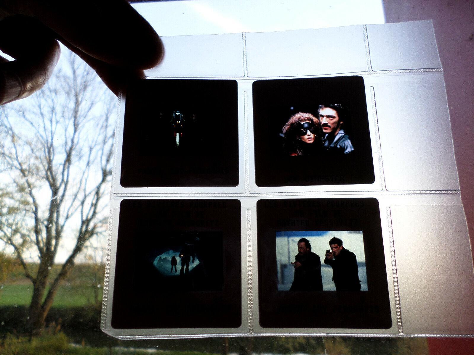 Lot diapositives / films / vincent cassel, dobermann