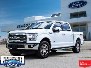 2016 Ford F-150 LARIAT,LEATHER,NAVIGATION,SUNROOF