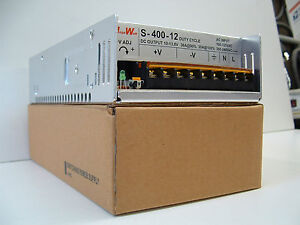 400 Watt Adj. Voltage 9 to15 DC 36 Amp HAM and CB Radio Power Supply