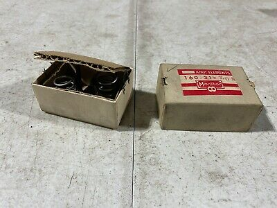 Lot Of Two Monitor Products Size 10 Heater Elements Magnetic 160-31-7.0a Nos