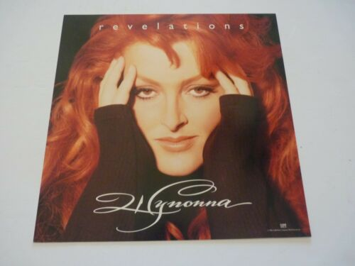 Wynonna Judd Revelations LP Record Photo Flat 12x12 Poster