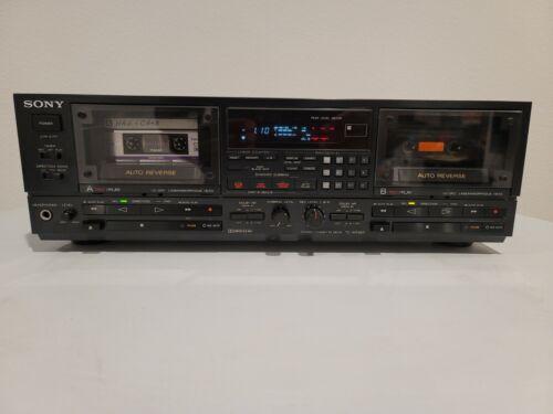 Vintage Sony TC-WR950 Dual Cassette Deck