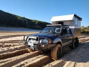Nissan Navara D22 offroad caravan campervan 6x4  4000kg GVM