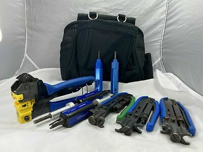 Jonard Tools Ct-200 Crimper Compression Tool Set With Pouch