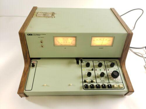 VINTAGE Grason-Stadler GSI 1723 Middle Ear Analyzer Audiometer - Tested