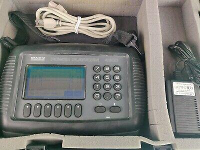 Dranetz Power Platform Analyzer Pp-4300 W Taskcard Plus Adapter