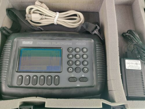 Dranetz Power Platform Analyzer PP-4300  w/ TaskCard PLUS ADAPTER