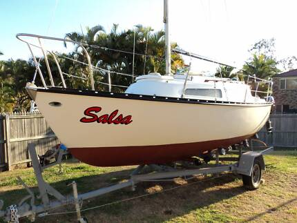 Sunmaid 20 Trailer Sailer Yacht Murrumba Downs Pine Rivers Area Preview