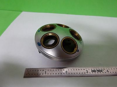 Microscope Part Leitz Germany Nosepiece Without Optics As Is Biny5-43