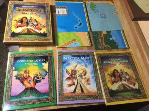 TSR AD&D Maztica Box set 1066 (Complete! Near Mint Contents!)