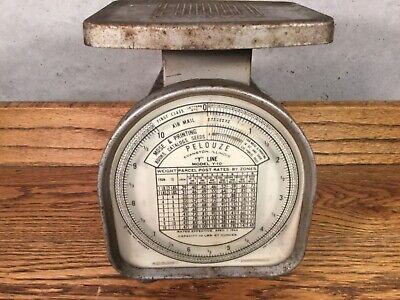Wisconsin Michigan Power Company Vintage Pelouze Postal Scale Works Y-10 Usa