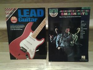 Jimmy Hendrix play along Guitar and Lead Guitar  book with CD's
