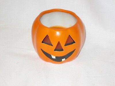 1996 Spooky Hollow Halloween Jack O Lantern Candle