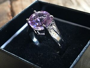 White Gold Amethyst Ring Wallaroo Copper Coast Preview