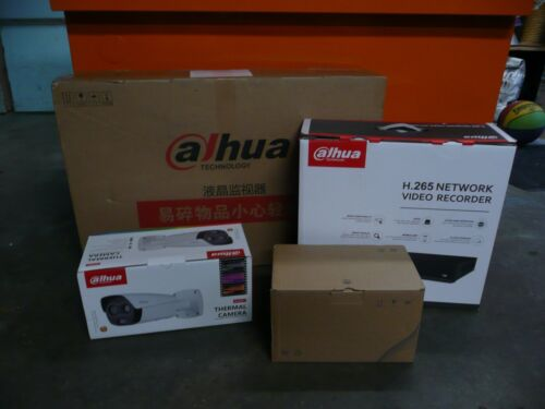New Unopened Boxes Dahua Thermal Body-Temperature Monitoring-Screening System
