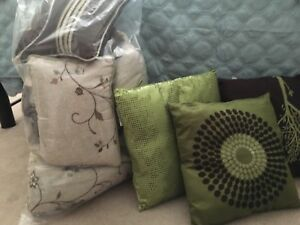 Queen bed cover set