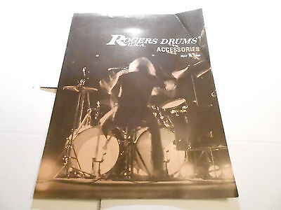 VINTAGE MUSICAL INSTRUMENT CATALOG #10223 - 1969 ROGERS DRUM ACCESSORIES