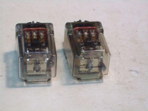 LOT P&B POTTER BLUMFIELD PLUG-IN RELAYS  11 PIN 3PDT CONTACTS 120VAC 2PCS P4963