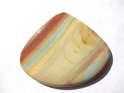 Polychrom Jaspis-Jasper Cabochon 48,8x60 mm 137 ct.  U8294