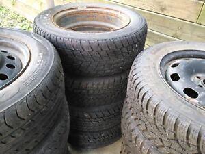 """12 tires used with rims 17 """""""