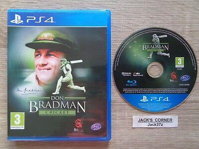 Don Bradman Cricket  PS4 Game - 1st Class FREE POSTAGE