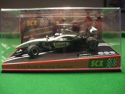 60870 SCX McLaren Mercedes MP4-16 F1 David Coulthard 4 1/32 slot car UNUSED