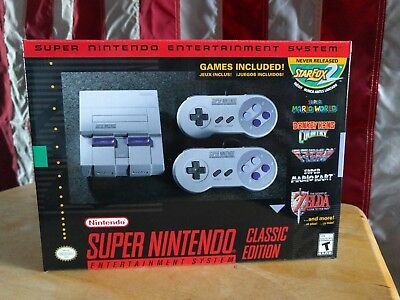 Wonderful Nintendo Entertainment System: Super NES Classic Edition 2017