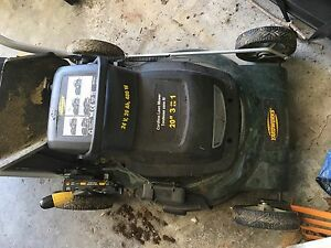 Yardworks Cordless Lawn Mower (battery needed)