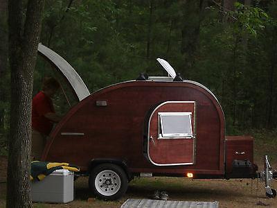 Big Woody Teardrop Camper Trailer Plans CD  FREE SHIP for sale  Elk Mound