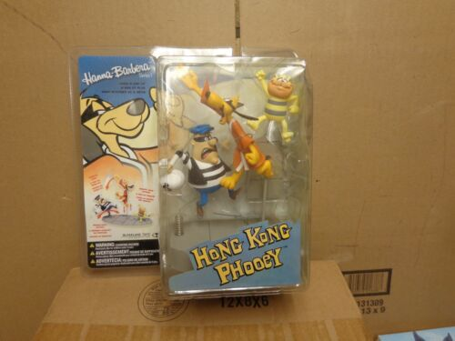MCFARLANE TOYS hanna -barbera SERIES 1 HONG KONG PHOOEY FIGURE DAMAGE PACKAGE