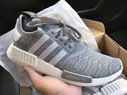 Adidas Originals NMD R1 Boost Mens US 10 Shoes New Grey Glitch Springvale South Greater Dandenong Preview