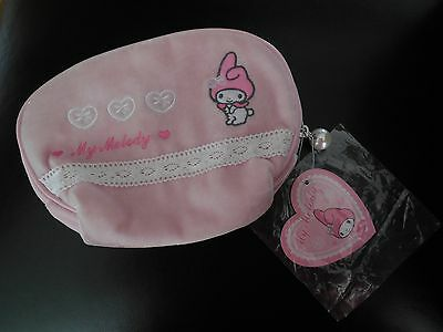 "NEW Sanrio ""My Melody"" Velour Pouch"