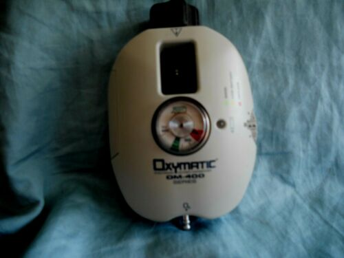 CHAD OXYMATIC OM - 411 A OXYGEN REGULATOR GREAT CONDITION TESTED !