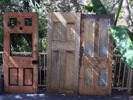 Vintage Timber Doors & DOORS VINTAGE   Building Materials   Gumtree Australia Wollongong ...