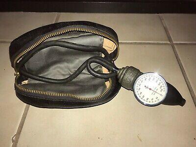 Vintage Tycos Classic Adult Aneriod Sphygmomanometer Blood Pressure W Case