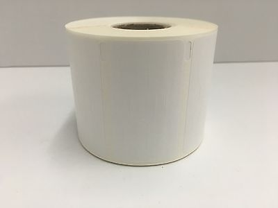 1 Roll Dymo Compt Labelwriter 30299 Polyprolene Jewelry Barbell Labels 1500 Pr