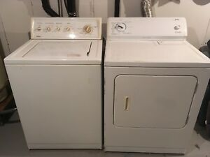 Kenmore washer&dryer