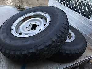 4x4 wheels tyres brand new on rims Shanes Park Blacktown Area Preview