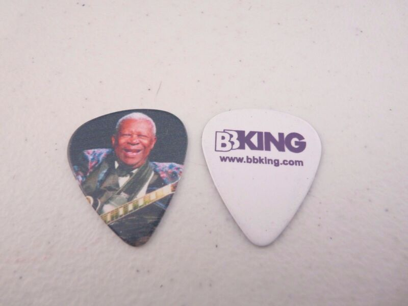 BB King King Of The Blues Music Playing Lucille Photo Double Sided Guitar Pick 2