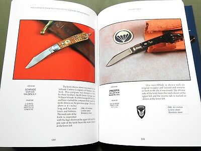 """US MILITARY POCKET KNIVES"" WW1 WW2 VIETNAM CASE WESTERN SCHRADE REFERENCE BOOK"