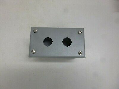 NEW!  Pushbutton Enclosure, 12, 13 NEMA Rating, Number of Columns: 1