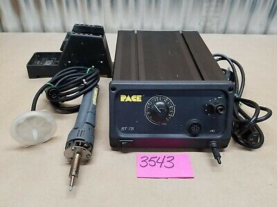 Pace St-75 Desoldering Station With Sensa Temp Ii Sord-x-tractor Stand