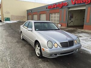 2000 Mercedes e430 4matic
