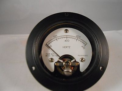 265-1108 Frequency Meter 390-410  New Old Stock 2 12