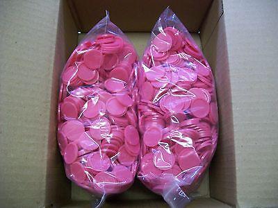 2000 Einkaufswagenchips  Wertmarken Pfandmarken Event Veranstaltung Ekw 02 Pink